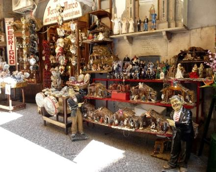 San Gregorio Armeno, the cradle of the Neapolitan Nativity scenes.
