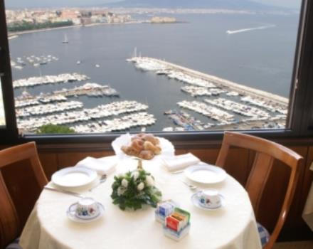 The restaurant at the Best Western Hotel Paradiso  in Naples offers you the taste of local cusine