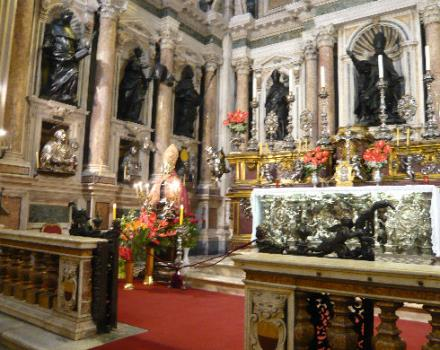 The Cappella del Tesoro di San Gennaro to be admired in all its beauty