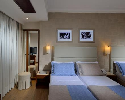 Comfort triple rooms of the BWBW Signature Collection Hotel Paradiso are rooms with all amenities, overlooking the inner garden that ensures maximum relaxation and tranquility