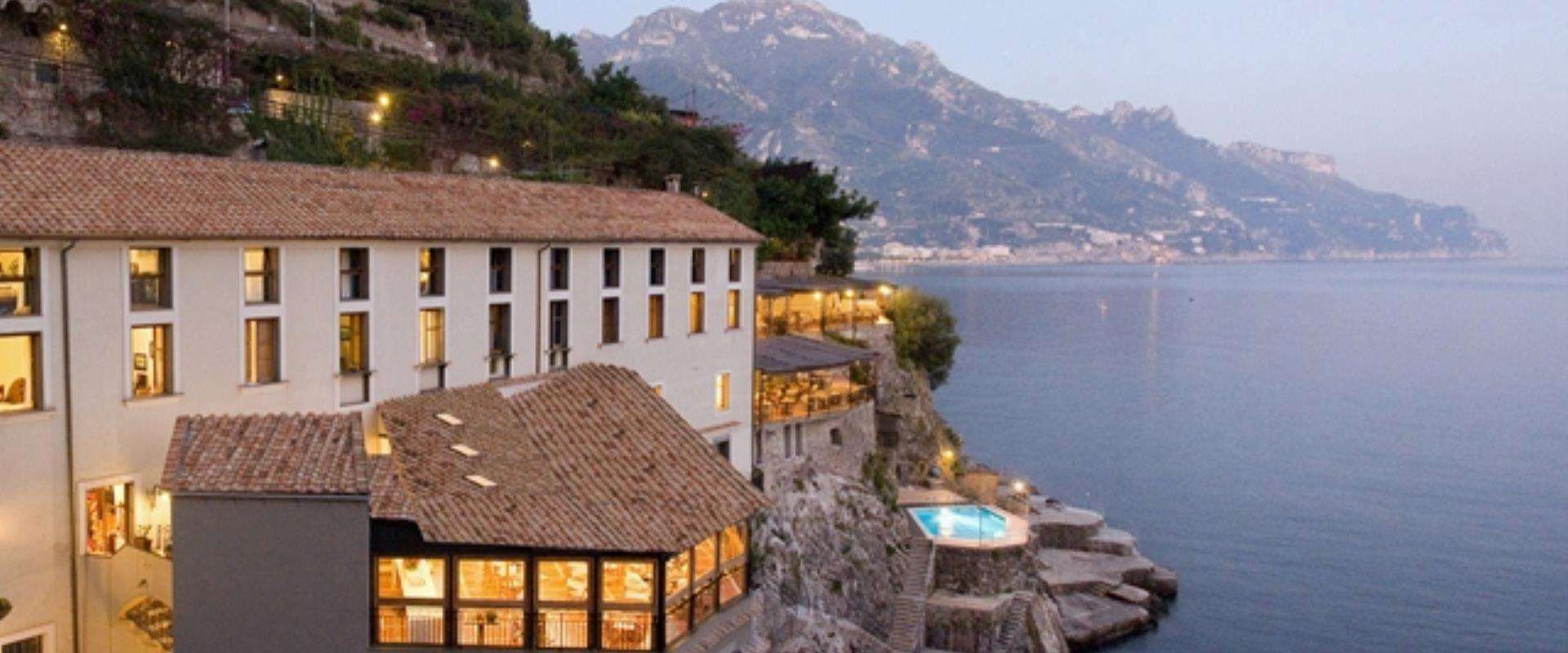 The beauty of the Amalfi Coast directly from the rooms of the BW Hotel Marmorata