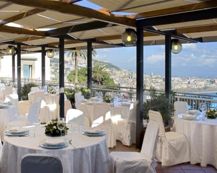 Try the restaurant at the  Hotel Paradiso