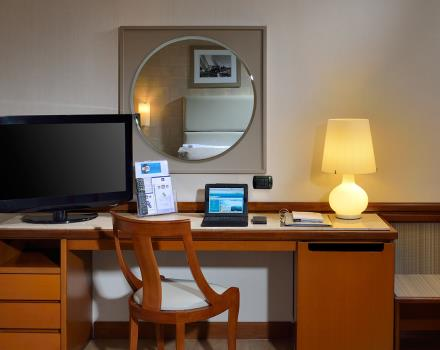 The Business rooms of the BW Hotel Paradiso offers all necessary facilities for business travellers