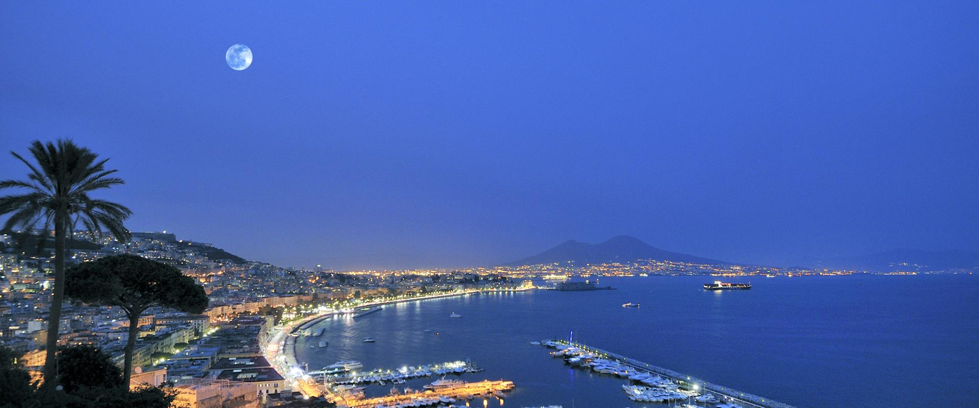 The wonderful view of the Gulf of Naples fromBW Signature Collection Hotel Paradiso