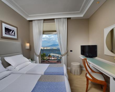 Room Twin Vista Mare Hotel Paradiso Naples