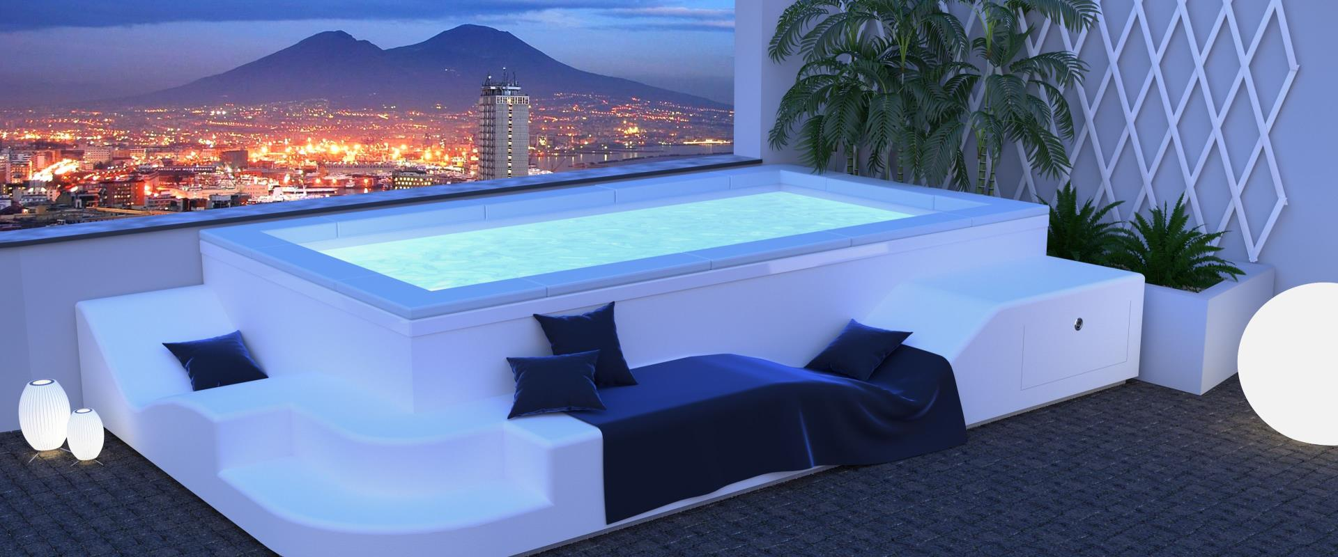 From the end of May 2021 the hotel''s customers can enjoy a refreshing bath in the new mini-pool, located in the Solarium, with magnificent views of the Gulf of Naples.