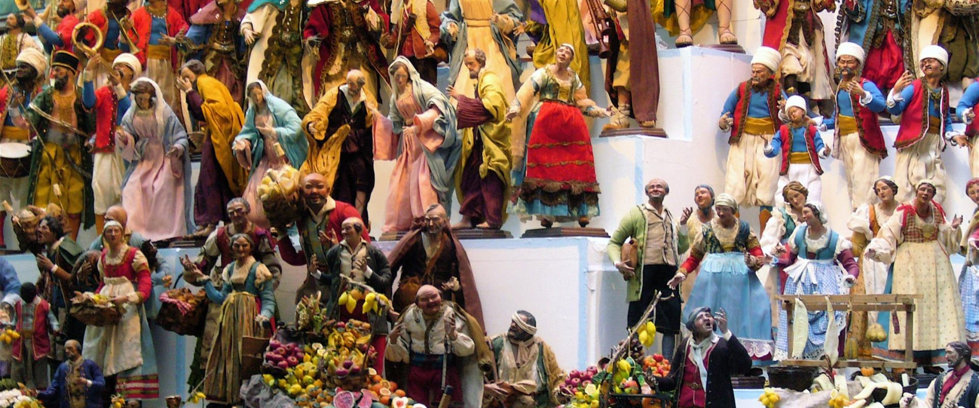 Check out the most famous street in Naples, entirely dedicated to the Nativity scene.