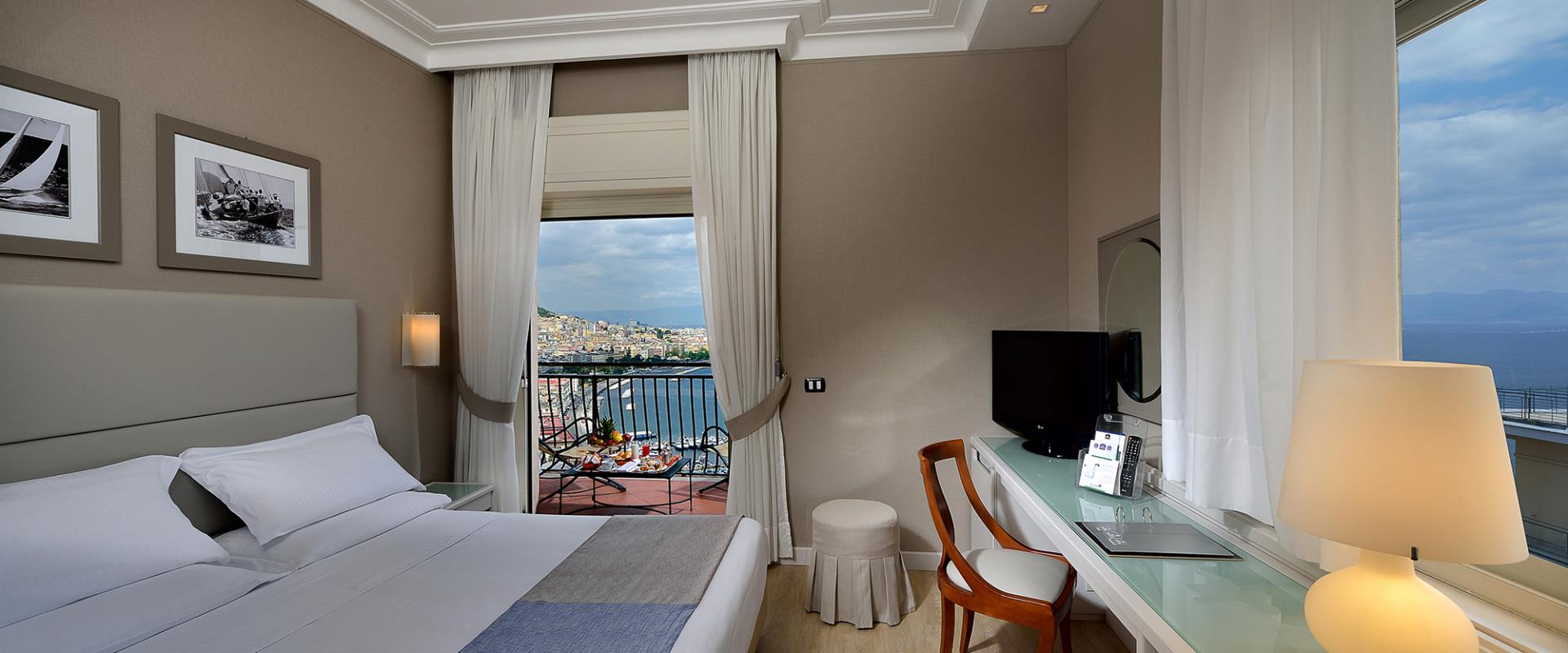 Superior sea view Double-room at paradise with stunning views of the Gulf of Naples