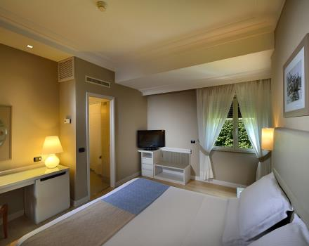 Double Room Comfort Interieur hotel Paradiso Napels