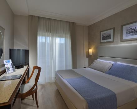 The Comfort rooms of the Best Western Hotel Paradiso in Naples are wide and comfortable rooms recently renovated