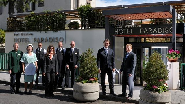 The staff of the Best Western Hotel Paradiso is always ready to meet your needs to ensure a pleasant and unforgettable stay.