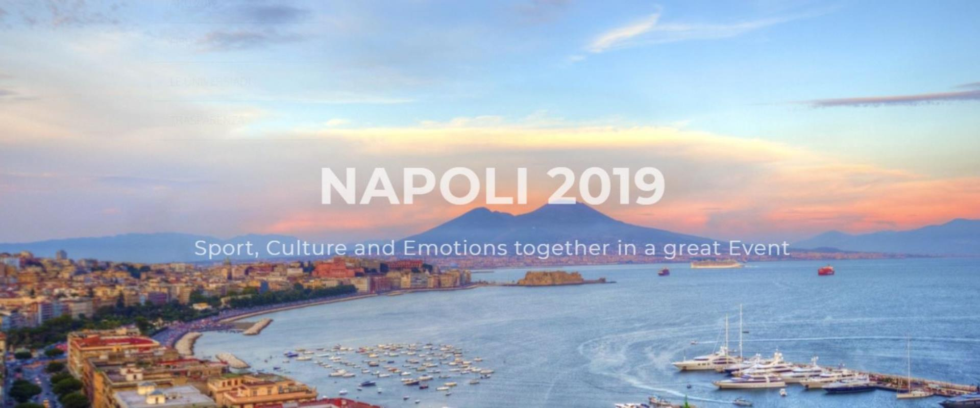 Universiadi a Napoli 2019