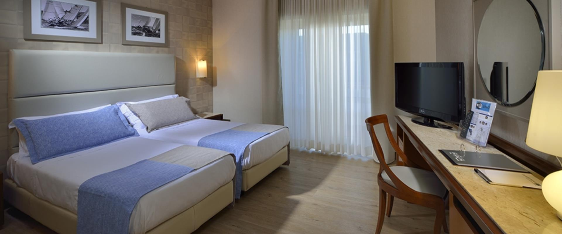 The comfort rooms guarantee a relaxing and tranquilittà