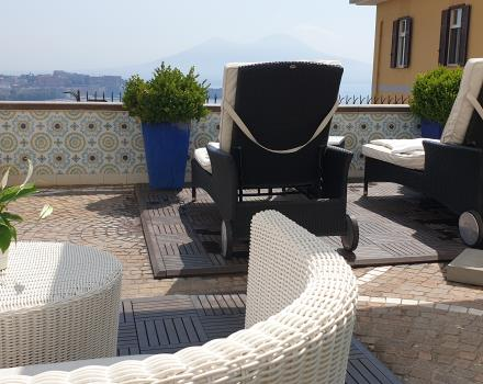 Best Western Hotel Paradiso Napels zon